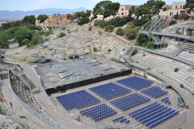 L'anfiteatro romano di Cagliari. Foto di P. Tolu
