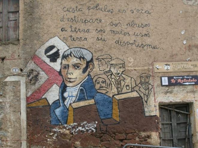 Murale contro gli abusi- Foto di M. Cuccu