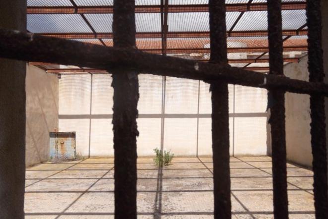 Interno dell'ex carcere - Foto di M. Cuccu