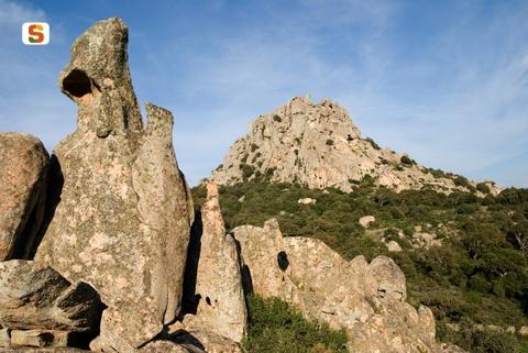 Aggius - Paesaggio roccioso - Foto di M. Murgia - http://www.sardegnadigitallibrary.it/
