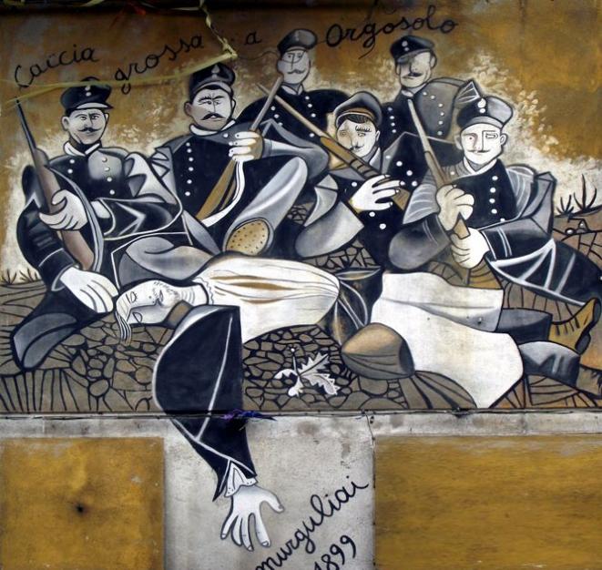 Orgosolo, murale