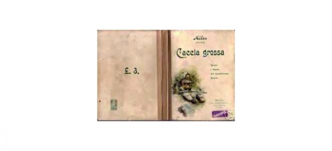 Copertina della prima edizione di Caccia Grossa