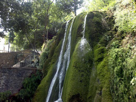 Le cascatelle di Sadali